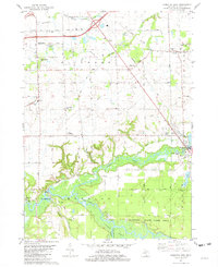 Download a high-resolution, GPS-compatible USGS topo map for Hamilton West, MI (1982 edition)
