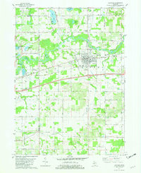 Download a high-resolution, GPS-compatible USGS topo map for Hartford, MI (1982 edition)