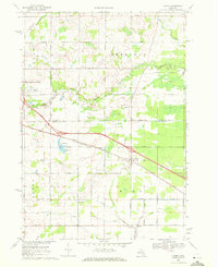 Download a high-resolution, GPS-compatible USGS topo map for Loomis, MI (1972 edition)