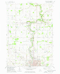 Download a high-resolution, GPS-compatible USGS topo map for Owosso North, MI (1978 edition)