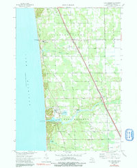 Download a high-resolution, GPS-compatible USGS topo map for Port Sheldon, MI (1991 edition)