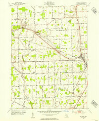 Download a high-resolution, GPS-compatible USGS topo map for Richmond, MI (1954 edition)