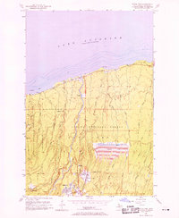 Download a high-resolution, GPS-compatible USGS topo map for White Pine, MI (1958 edition)
