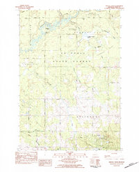 Download a high-resolution, GPS-compatible USGS topo map for Prestle Creek, MI (1984 edition)
