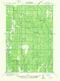 Usgs 1 31680 Scale Quadrangle For Trenary Sw Mi 1932 Sciencebase