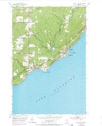 USGS 1:24000-scale Quadrangle for Knife River, MN 1953