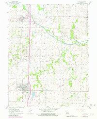 Download a high-resolution, GPS-compatible USGS topo map for Adrian, MO (1982 edition)
