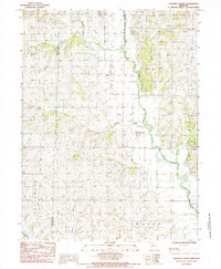 Download a high-resolution, GPS-compatible USGS topo map for Alanthus Grove, MO (1985 edition)
