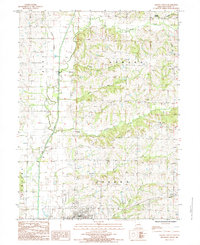 Download a high-resolution, GPS-compatible USGS topo map for Albany North, MO (1985 edition)