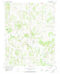 Download a high-resolution, GPS-compatible USGS topo map for Aldrich, MO (1974 edition)