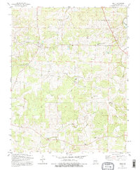 Download a high-resolution, GPS-compatible USGS topo map for Anutt, MO (1995 edition)