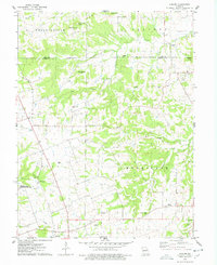 Download a high-resolution, GPS-compatible USGS topo map for Auburn, MO (1978 edition)