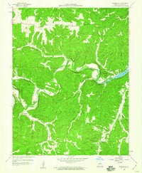Download a high-resolution, GPS-compatible USGS topo map for Barnumton, MO (1960 edition)