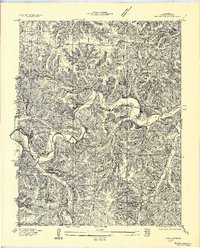 Download a high-resolution, GPS-compatible USGS topo map for Barnumton, MO (1957 edition)