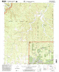 Download a high-resolution, GPS-compatible USGS topo map for Bartlett, MO (1999 edition)
