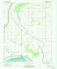 Download a high-resolution, GPS-compatible USGS topo map for Bayouville, MO (1972 edition)