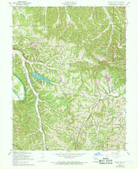 Download a high-resolution, GPS-compatible USGS topo map for Belew Creek, MO (1969 edition)