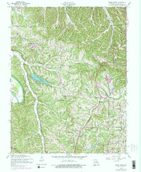 Download a high-resolution, GPS-compatible USGS topo map for Belew Creek, MO (1975 edition)
