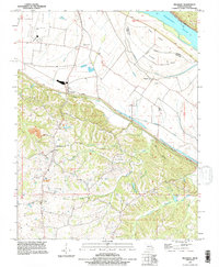 Download a high-resolution, GPS-compatible USGS topo map for Belgique, MO (1996 edition)