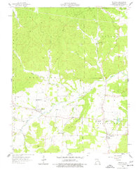 Download a high-resolution, GPS-compatible USGS topo map for Belgrade, MO (1977 edition)
