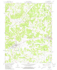 Download a high-resolution, GPS-compatible USGS topo map for Belle, MO (1981 edition)