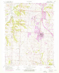Download a high-resolution, GPS-compatible USGS topo map for Belton, MO (1976 edition)
