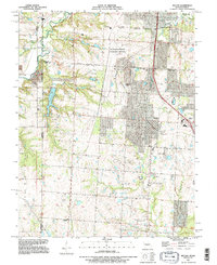 Download a high-resolution, GPS-compatible USGS topo map for Belton, MO (1996 edition)