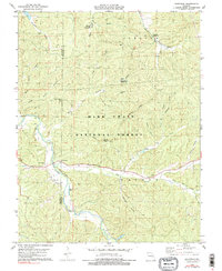 Download a high-resolution, GPS-compatible USGS topo map for Berryman, MO (1990 edition)