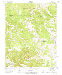 Download a high-resolution, GPS-compatible USGS topo map for Beulah, MO (1978 edition)