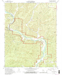 Download a high-resolution, GPS-compatible USGS topo map for Big Spring, MO (1980 edition)