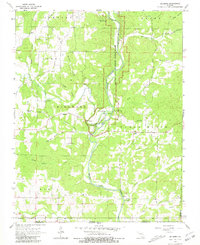 Download a high-resolution, GPS-compatible USGS topo map for Billmore, MO (1981 edition)