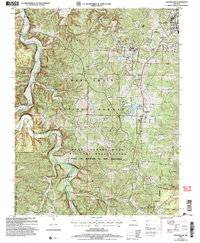 Download a high-resolution, GPS-compatible USGS topo map for Bloodland, MO (2006 edition)