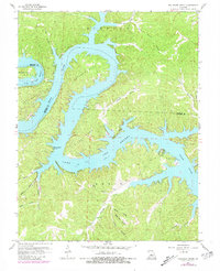 Download a high-resolution, GPS-compatible USGS topo map for Bollinger Creek, MO (1981 edition)