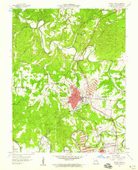 Download a high-resolution, GPS-compatible USGS topo map for Bonne Terre, MO (1959 edition)