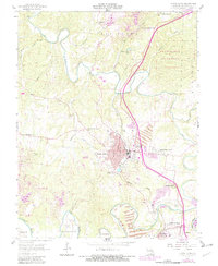 Download a high-resolution, GPS-compatible USGS topo map for Bonne Terre, MO (1982 edition)