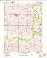 Download a high-resolution, GPS-compatible USGS topo map for Bosworth, MO (1979 edition)