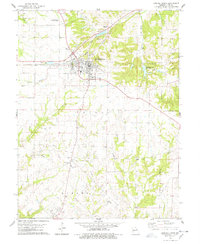 Download a high-resolution, GPS-compatible USGS topo map for Bowling Green, MO (1978 edition)