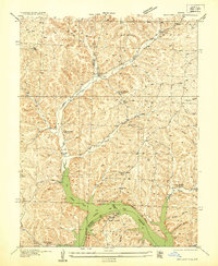 Download a high-resolution, GPS-compatible USGS topo map for Boylers Mill, MO (1935 edition)