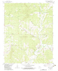 Download a high-resolution, GPS-compatible USGS topo map for Bradleyville, MO (1983 edition)