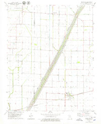 Download a high-resolution, GPS-compatible USGS topo map for Bragg City, MO (1979 edition)