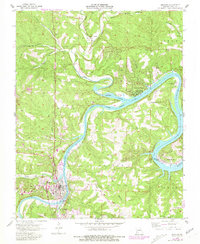 Download a high-resolution, GPS-compatible USGS topo map for Branson, MO (1981 edition)