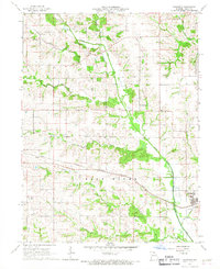 Download a high-resolution, GPS-compatible USGS topo map for Brashear, MO (1967 edition)