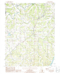 Download a high-resolution, GPS-compatible USGS topo map for Brazito, MO (1988 edition)