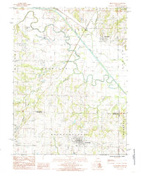 Download a high-resolution, GPS-compatible USGS topo map for Breckenridge, MO (1985 edition)