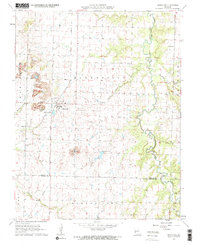 Download a high-resolution, GPS-compatible USGS topo map for Bronaugh, MO (1964 edition)