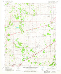 Download a high-resolution, GPS-compatible USGS topo map for Brookline, MO (1968 edition)