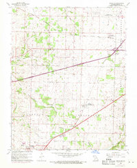 Download a high-resolution, GPS-compatible USGS topo map for Brookline, MO (1971 edition)