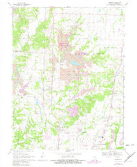 Download a high-resolution, GPS-compatible USGS topo map for Browns, MO (1982 edition)