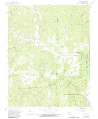 Download a high-resolution, GPS-compatible USGS topo map for Brunot, MO (1983 edition)