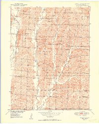 Download a high-resolution, GPS-compatible USGS topo map for Bucklin NW, MO (1950 edition)